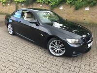 2009 BMW 320I M SPORT CONVERTIBLE 6 SPEED