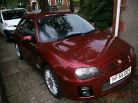 MG ZR 160VVC FIREFROST RED 2005