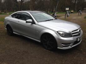 2011 11 Plate Mercedes-Benz C Class 2.1 C220 CDI BlueEFFICIENCY AMG Sport 2dr Coupe