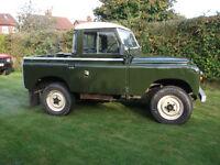 Series 2a Land Rover Tax Exempt