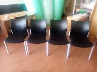 8 Office chairs