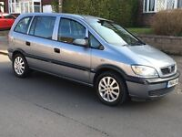 VAUXHALL ZAFIRA 1.6 LIFE MODEL 54 REG 2004 SERVICE HISTORY + CAM BELT KIT DONE ANY P/X WELCOME