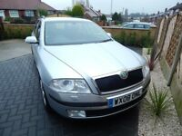 2008 SKODA 1.9 PD TDI ELEGANCE ESTATE- 1 OWNER FROM NEW- FSH- TIMING BELT/PUMP REPLACED - EXCELLENT