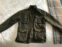 Barbour Country Wax Cotton Jacket size S
