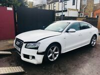 2011 Audi A5 S LINE SAT NAV 2.0 TFSi FACELIFT Salvage Damaged Repairable A4 A6