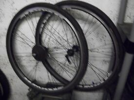 "26"" bicycle wheels and tyres"