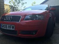 Audi A3 2.0T FSI S-Line DSG, 2005 (05), 139k, High spec car in excellent condition.