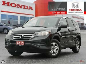 2013 Honda CR-V LX MULTI-ANGLE REAR VIEW CAMER WITH GUIDELINE...