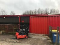 Forklift truck collection from Preston