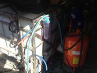 1000lt water tank in stainless steel frame. Window cleaning . Wheelie bin cleaning