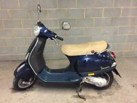 LX50 Piaggio Vespa 2013 Blue 48cc