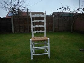 White Spanish Wooden chair