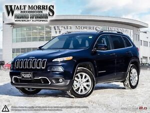 2016 Jeep Cherokee Limited - LEATHER, REAR VIEW CAMERA, HEATED S