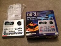Boss DR 3 drum machine