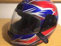 HJC motorcycle helmet used