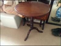 Occasional table solid mahoghany
