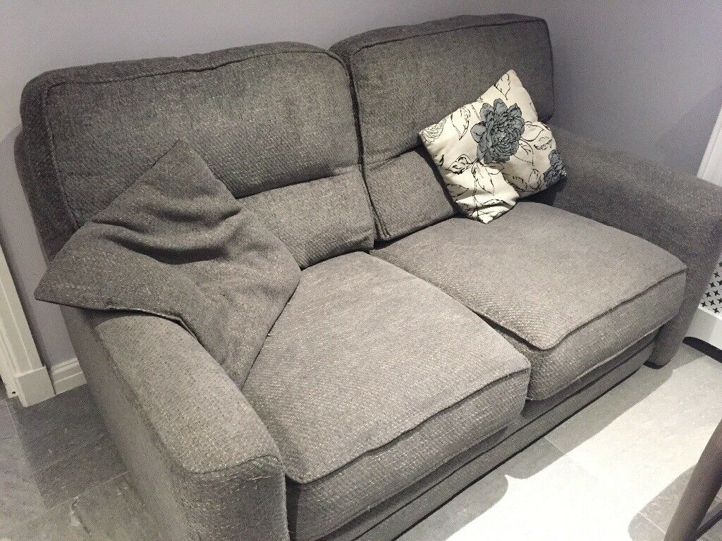 Scs 2 Seater Fabric Sofa With Memory Foam Filling And High Quality