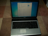 "Toshiba Satellite L350 17""inch Core2Duo 2.00GHz CPU 2 GB Memory 320 GB HDD Wifi Laptop"