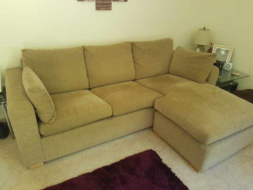 L Shape Three Seater Sofa In Yateley Hampshire Gumtree