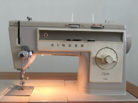 Singer Stylist 533 Sewing Machine with Table