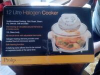 Halogen cooker 12l
