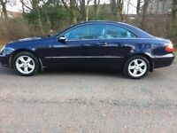 2004 Mercedes-Benz CLK 240 2.6, 3 Door, Petrol, AUTOMATIC, MOT 12 Months*7 stamps in service book