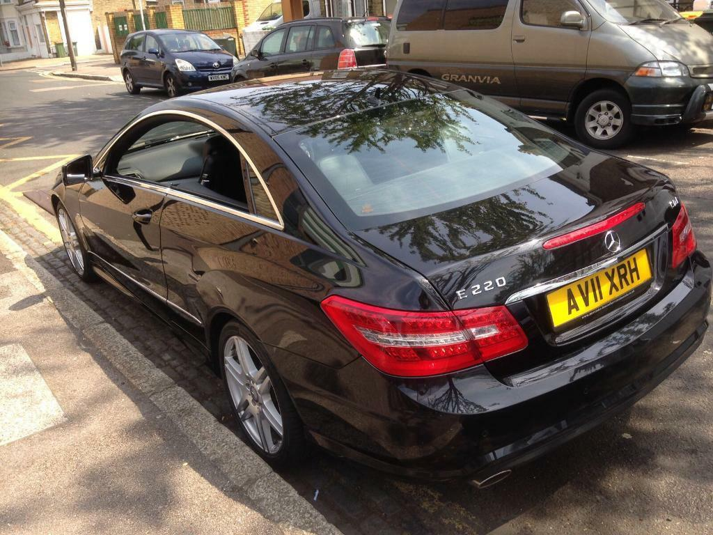 2011 Mercedes E Class E220 Coupe Sport Diesel, NEW 12 MONTHS MOT, HPI CLEAR