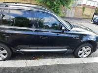 BMW X3 4x4 black Bargain