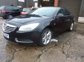 VAUXHALL INSIGNIA EXCLUSIVE 2.0 CDTI DIESEL MOTD MARCH 2018 FULL S HISTORYERVICE