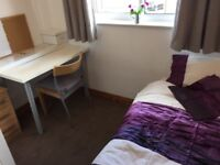 Bed rooms ON SUITE BILLS INCLUDED available, near Oxford Rd, MRI, Univesity, city, transport, Garden