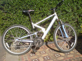 ADULT SIZE BIKE WITH SUSPENSION