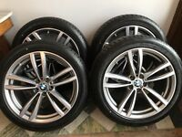 """BMW Alloy Wheels 19"""" 647M Alloys with Hankook Tyres"""