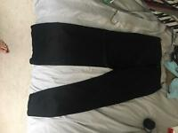 Black Ted Baker trousers