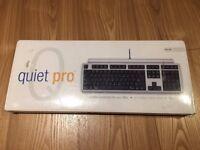 Matias Quiet Pro mechanical keyboard for Mac