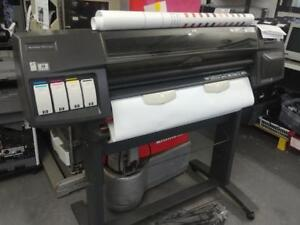 HP DESIGNJET 1055CM PLUS C6075B LARGE FORMAT PRINTER PLOTTER