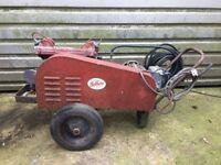 vintage air compressor Sellarc w.bateman 2 cylinders