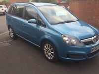 Vauxhall Zafira for sale, petrol