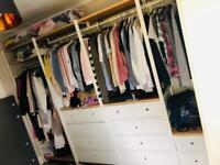 IKEA ELVARLI Clothes Storage System/wardrobe