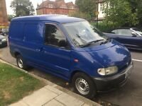 NISSAN VANETTE CARGO 2.3 DIESEL WITH LOW MILEAGE. VERY CLEAN VAN DRIVING PERFECT, 12 MONTHS MOT