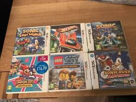 Nintendo 3DS / DS 6 games mint condition