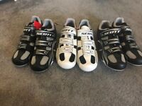 Scott Road Comp cycling shoes – 3 pairs brand new with tags size UK7 EU41
