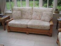 Quality Pine 3 seater Sofa
