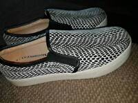 River island slip on shoes size 4