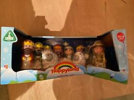 Happy land nativity set