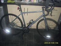 "Norco Indie ""Drop"" Cyclocross CX Touring Road Racing Bike Virtually As New 54cm Disc Brakes & Extras"