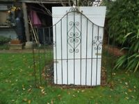 Wrought Iron garden gate for sale