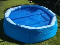Bestway 8ft Easy up pool plus solar cover