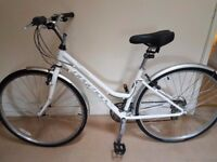 "Ridgeback Rapide Speed Ladies Hybrid bike Frame size 17"""