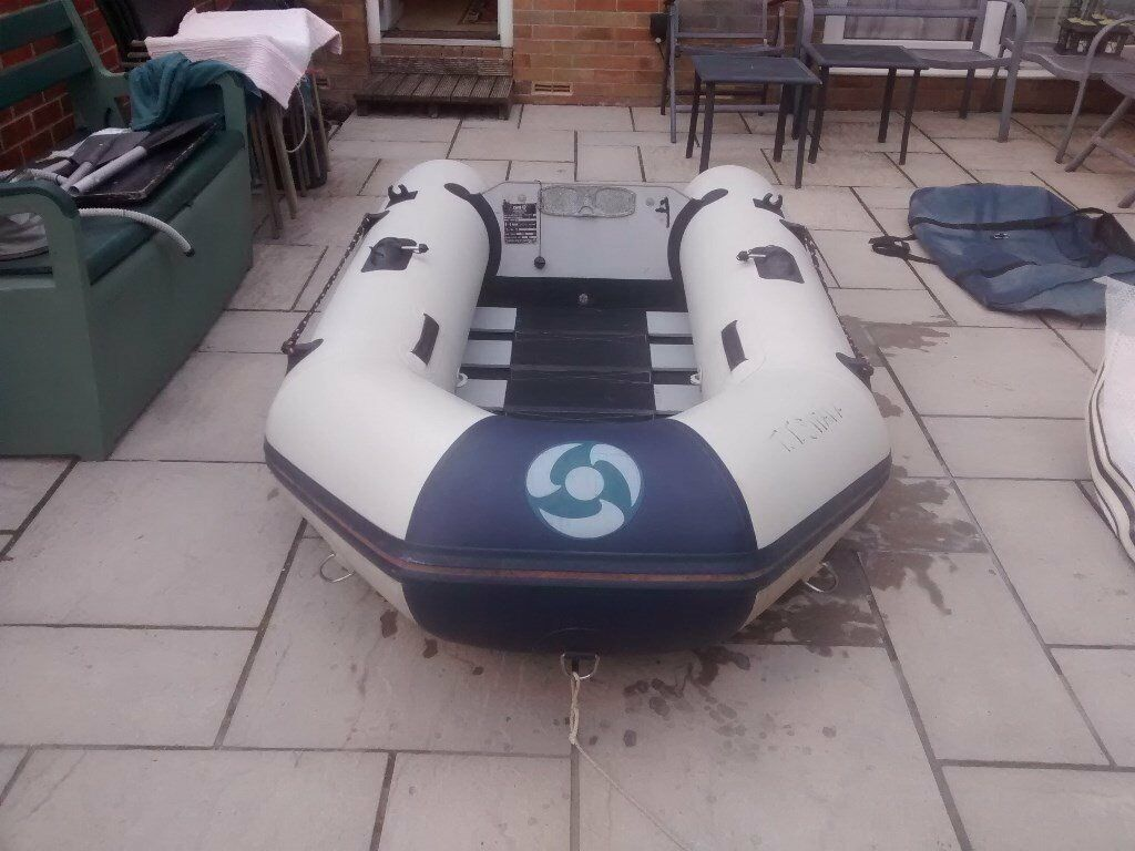 INFLATABLE DINGHY YAM 250T YAMAHA DINGY TENDER RIB SIB SAILING FISHING BOAT