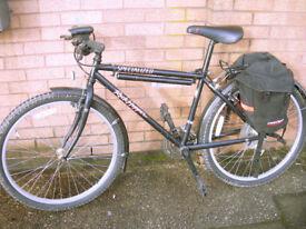 "Specialized Rockhopper Bike 21 Gears 16.5"" Frame Karrimor Panniers VGC (WH_1922)"